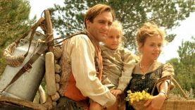 Jean de Florette, sa femme et sa fille »  – Tournage de Jean de Florette