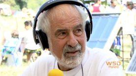 A Lézan, le porte parole du collectif anti-gaz de schistes d'Ardèche, Jean-Louis Chopy