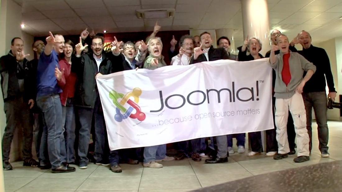 Rencontre entre l'équipe française et l'équipe international lors du Joomladay de Toulouse