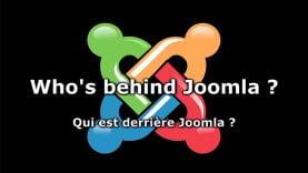 Qui est derrière Joomla ? Who is behind Joomla ?
