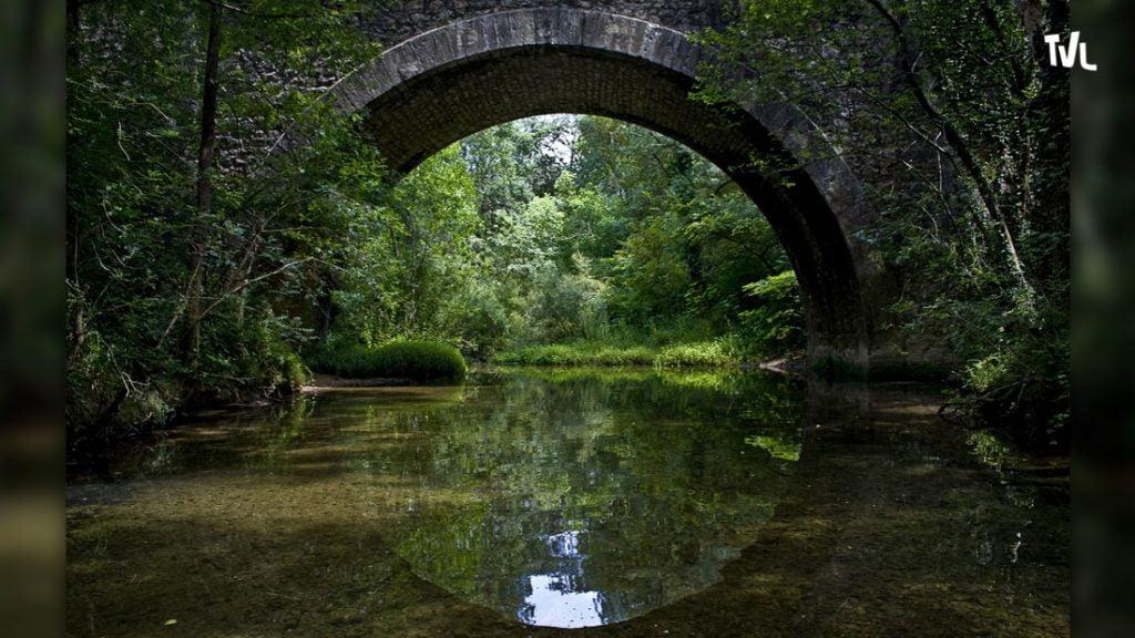 Arceau de pont cévenol sur la Buèges
