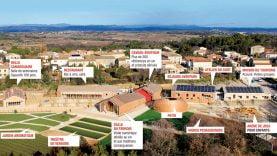 Viavino et ses différents bâtiments