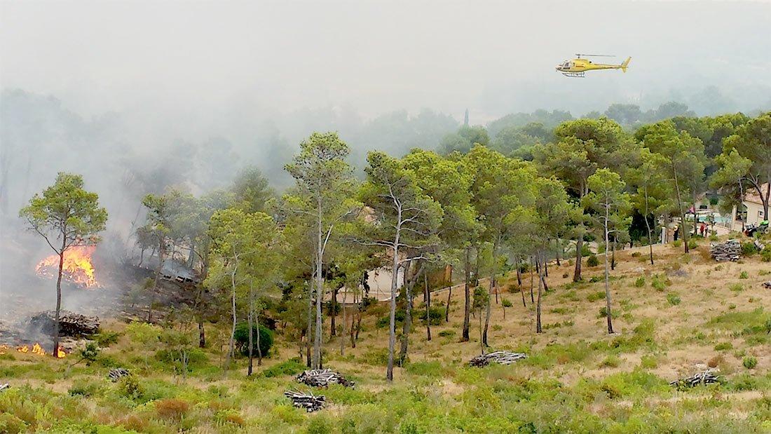 Polémique sur des tas de bois trop proches des habitations de Saint Bauzille de Montmel