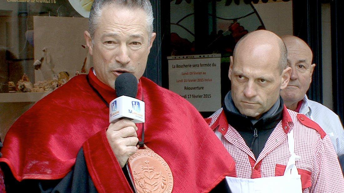 Serge Poitou en compagnie de Brice et Karl Béchard
