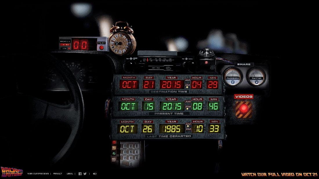 Célèbre Retour vers le futur : Christopher Lloyd et Michael J. Fox se  YA47