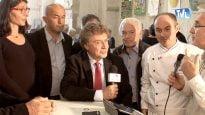 Damien ALARY, Président de la Région Languedoc-Roussillon, répondant aux questions de Thierry JIRKOVSKY, journaliste de Tv Languedoc