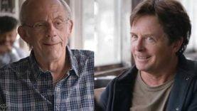 30 ans après le film retour vers le futur, Doc et Marty se retrouvent