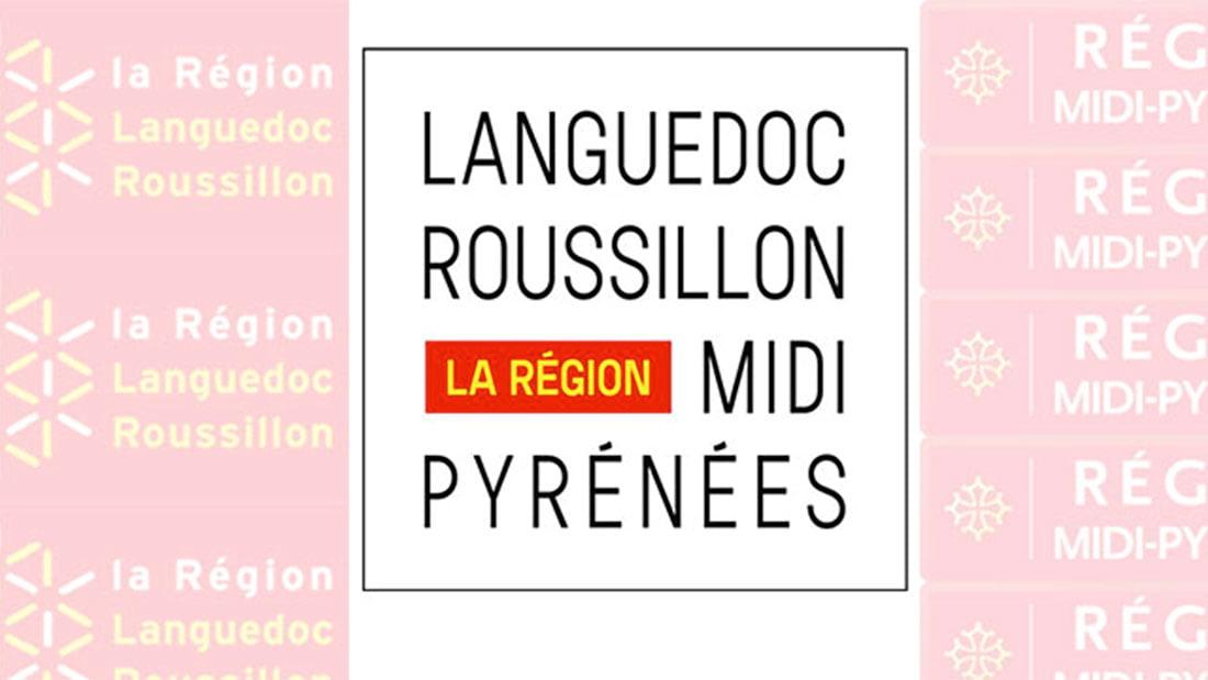 Logo provisoire de la nouvelle région