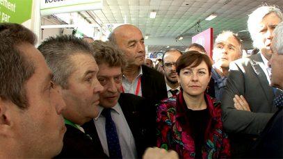 Ministres et Presidents à Montpellier