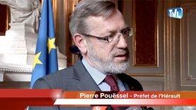Pierre Pouëssel, le nouveau préfet de l'Hérault