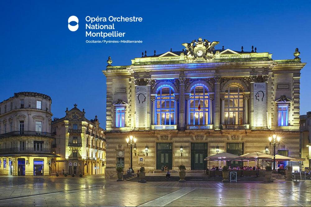 L'opéra Comédie de Montpellier