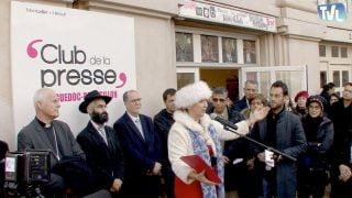 Esprit Charlie : Hommages devant le Club de la Presse à Montpellier