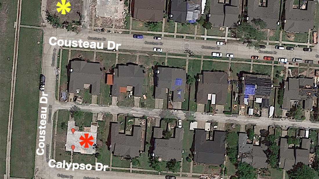 Google Maps : Après la destruction