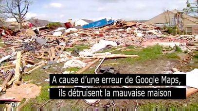 Erreur de Google Maps