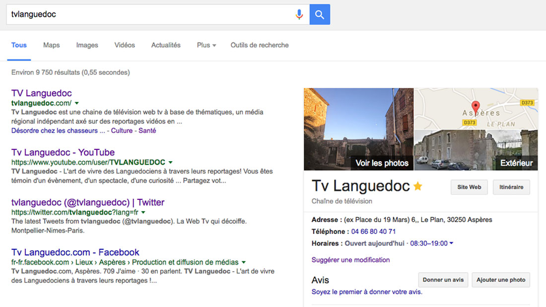 Pour la journée de la terre, google se met au vert