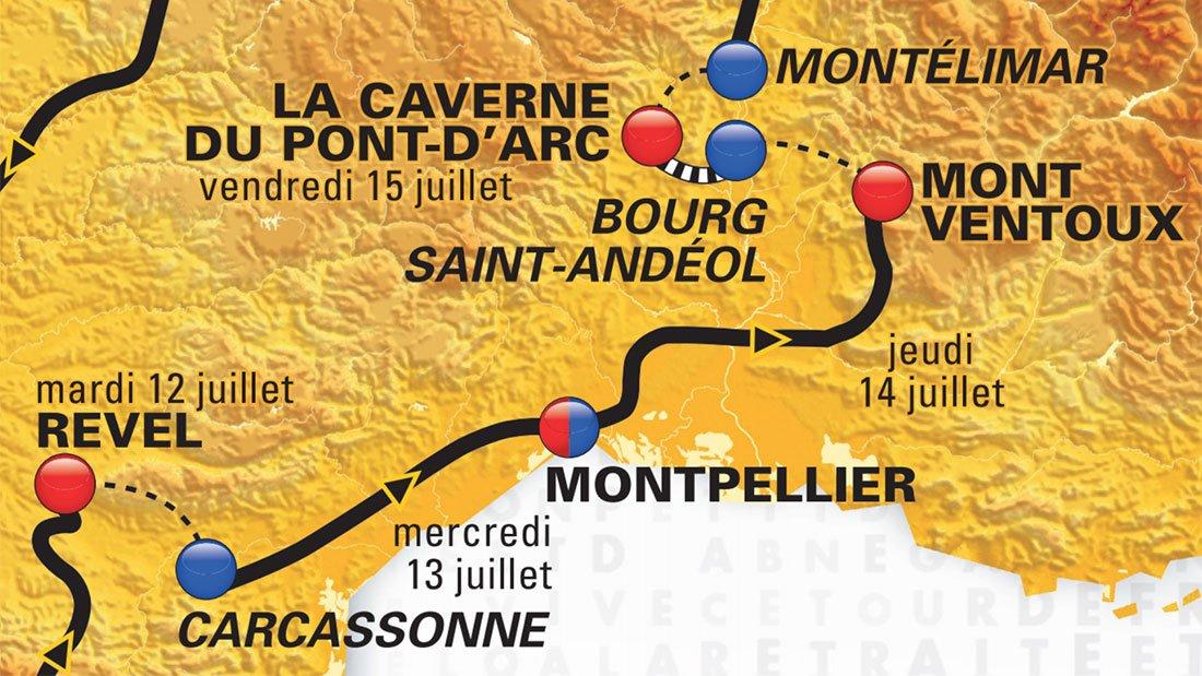 Montpellier sur le Tour de France 2016