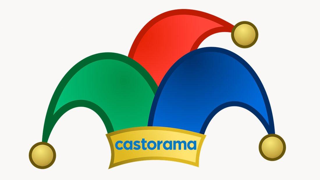 Le site web de Castorama devient il fou ?
