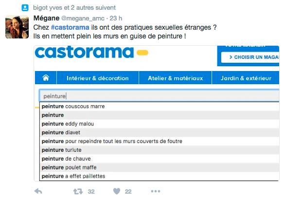 Pratiques sexuelles étranges chez Castorama- -