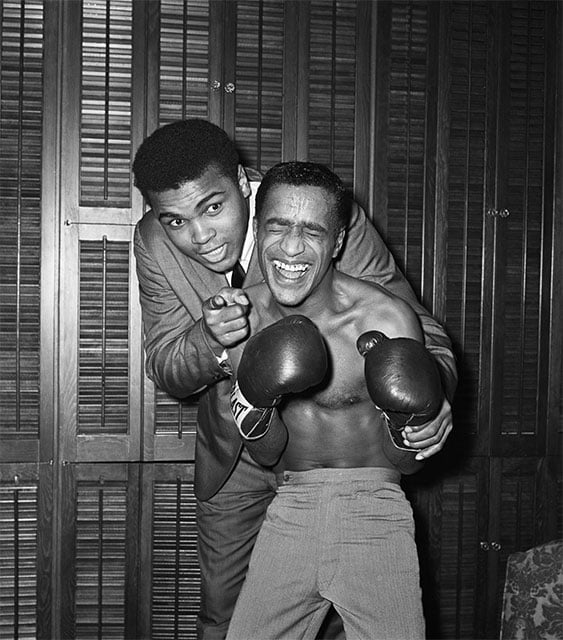 Sammy davis junior et-Mohamed Ali