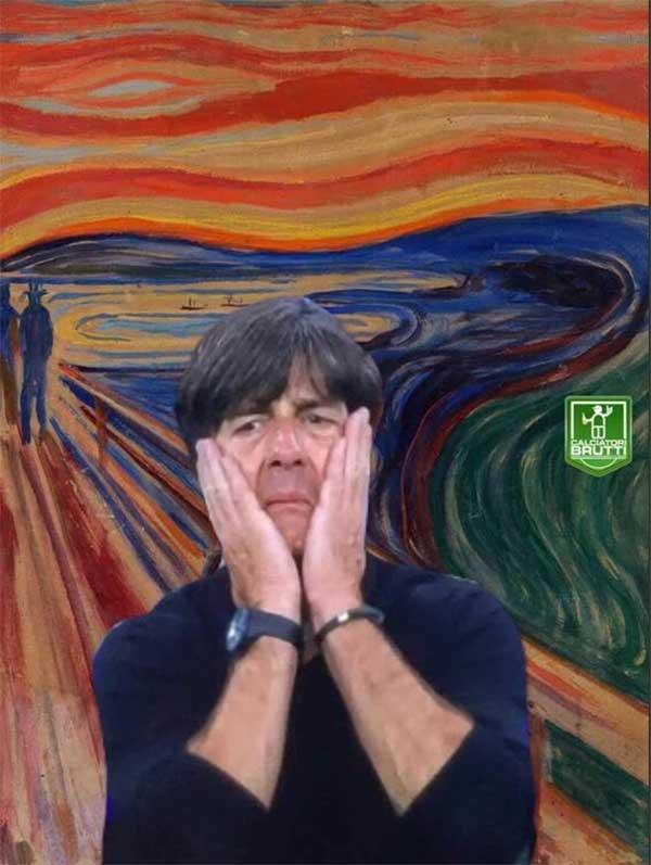 """"""" Le cri """" de l'entraineur allemand"""