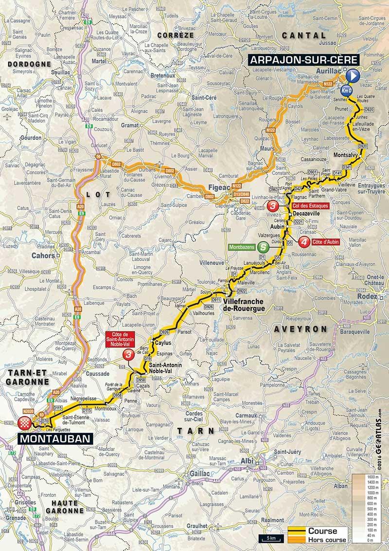 Montauban, sixième étape du Tour de France 2016