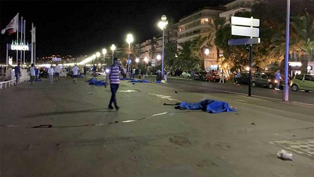 Un journaliste de Nice Matin raconte le drame qui s'est déroulé près de lui