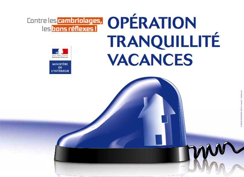 OTV : Opération Tranquillité Vacances