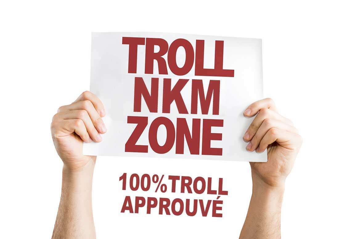 Le troll de NKM est approuvé