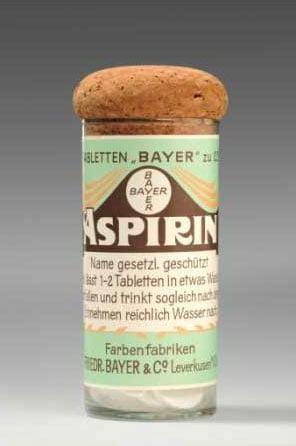 L'aspirine, une création de Bayer
