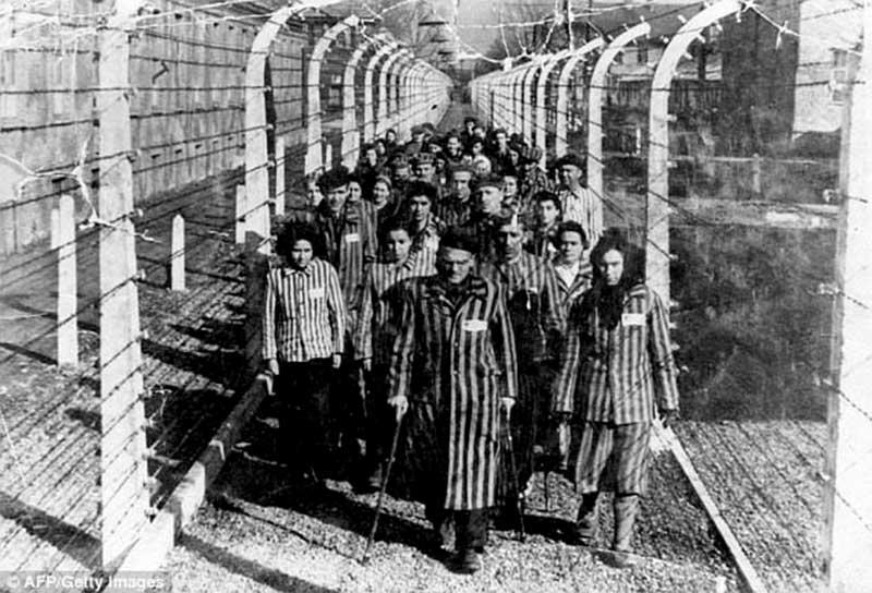 Les camps d'exterminations ( source AFP Getty Images )