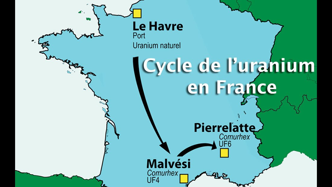 Cycle de l'uranium en France