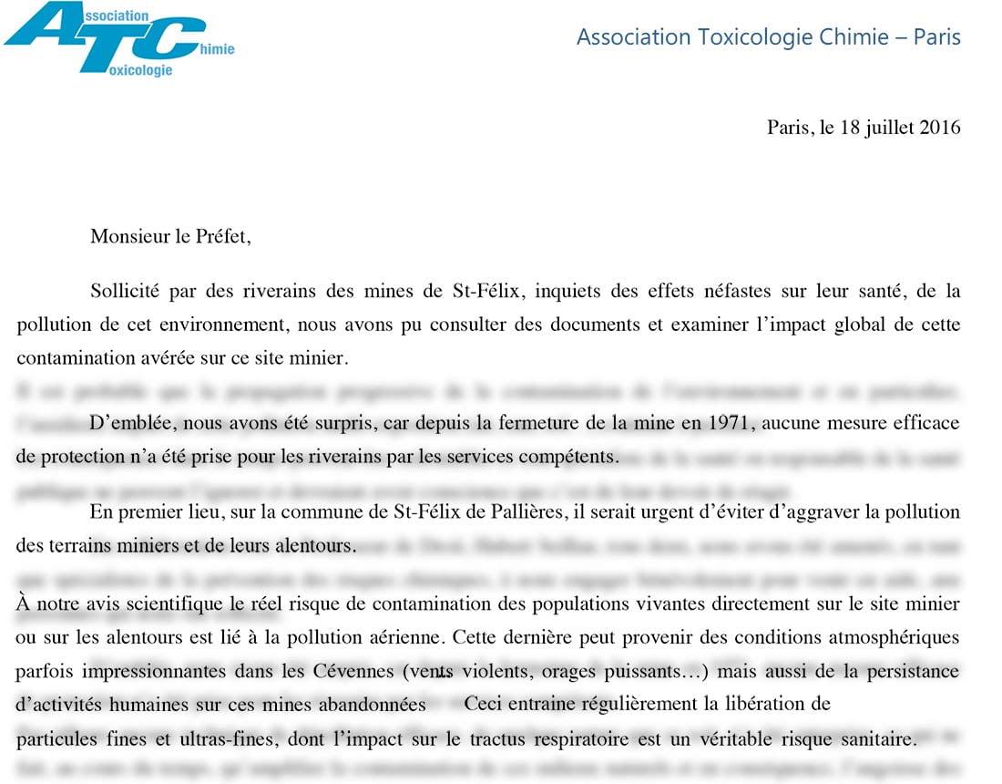 Extraits de la lettre des chercheurs CNRS au préfet