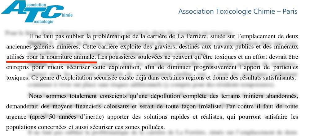 Second Extrait de la lettre des chercheurs CNRS au préfet (suite)