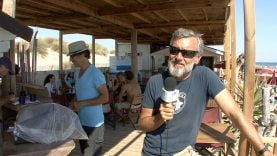 La plagette à Carnon Bernard Barny et Lorenzo Chardaire