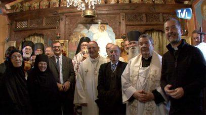 De nombreuses personnalités présentes  au monastère skite sainte-foy pour ce 20ème anniversaire