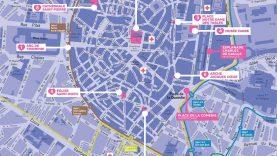 Plan des sites Plan du Coeur de ville en lumières