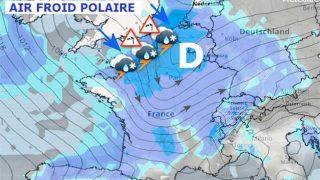 Météo : Arrivée du froid polaire