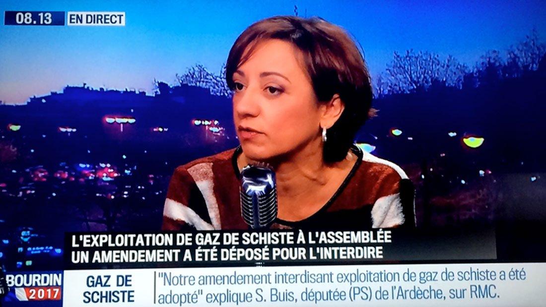 Sabine Buis chez Jean-Jacques Bourdin