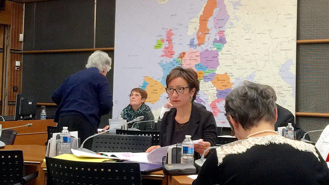 Sabine Buis, une députée ardéchoise contre les gaz de schistes