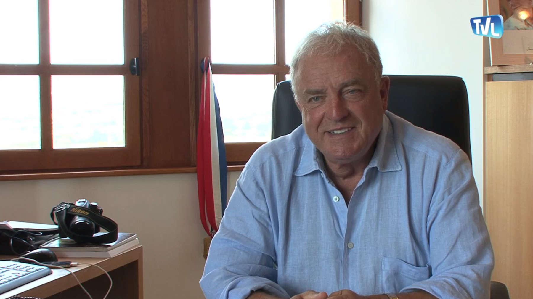 Le Maire de Barjac Edouard Chaulet appelle au fracking