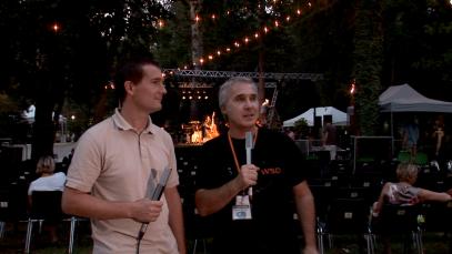 Interview de Fabrice Fenoy directeur artistique du festival 2012 d'un piano sous les arbres.