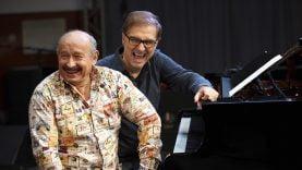 Duo magique Michel Jonasz et Jean-Yves d'Angelo en concert à Lunel-Viel