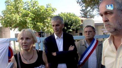 Dianel Pialet maire de St Ambroix