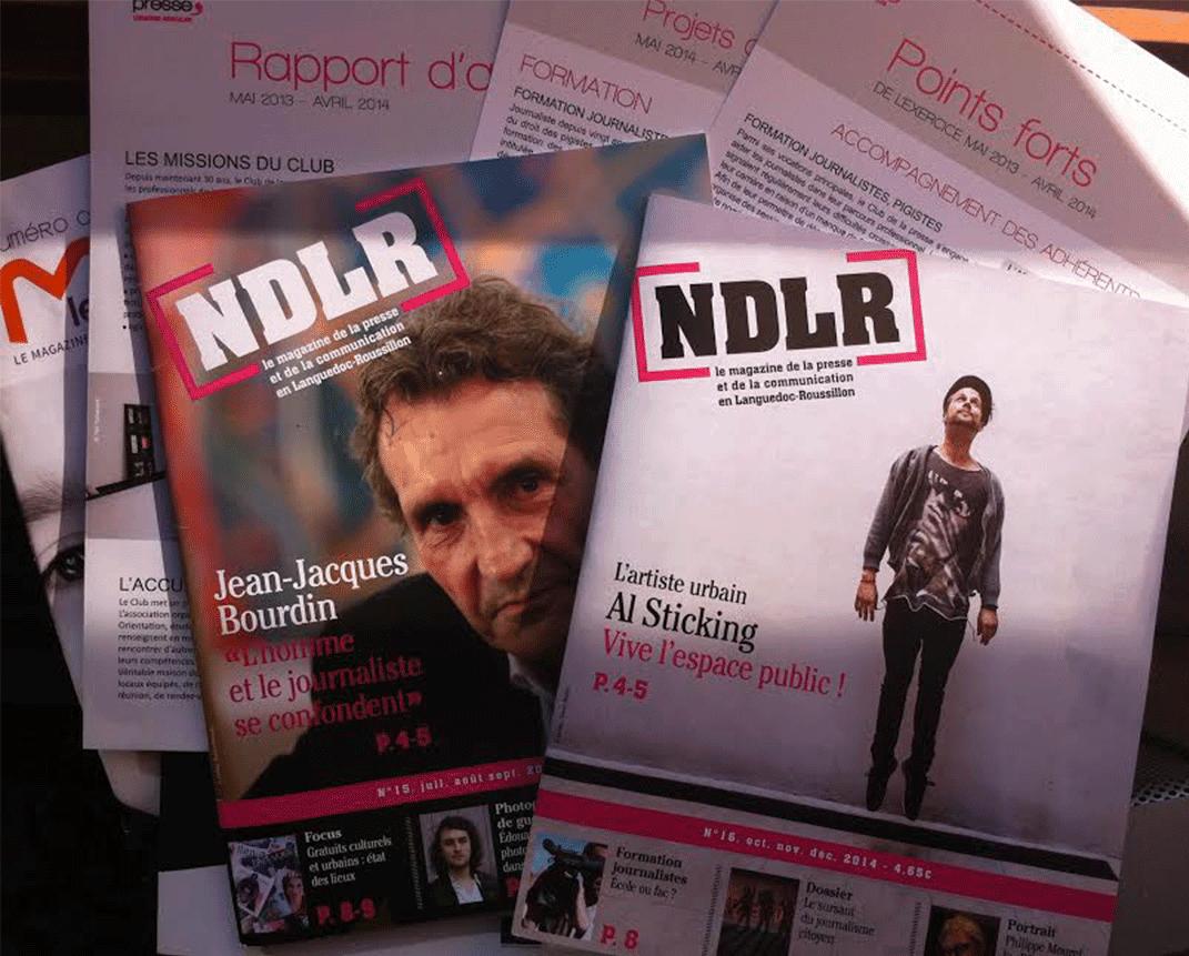 Dans sa revue NDLR, le Club de la Presse a rédigé un article sur l'existence des médias PurePlayer en Languedoc-Roussillon, dont TVL