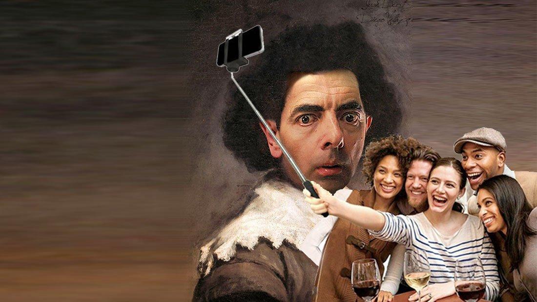 Tourisme et Culture : Vélasquez et la canne à selfie