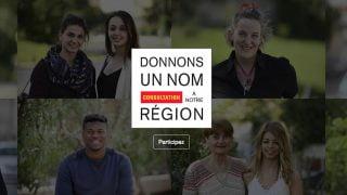 Grande consultation citoyenne pour donner un nom à notre région