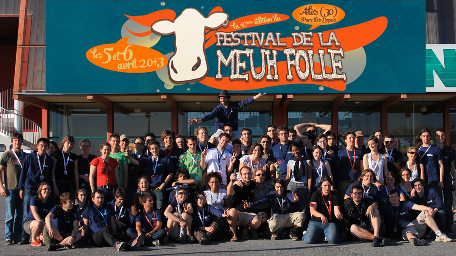 Le festival de la Meuh Folle est un événement organisé par des élèves de l'École des Mines d'Alès.