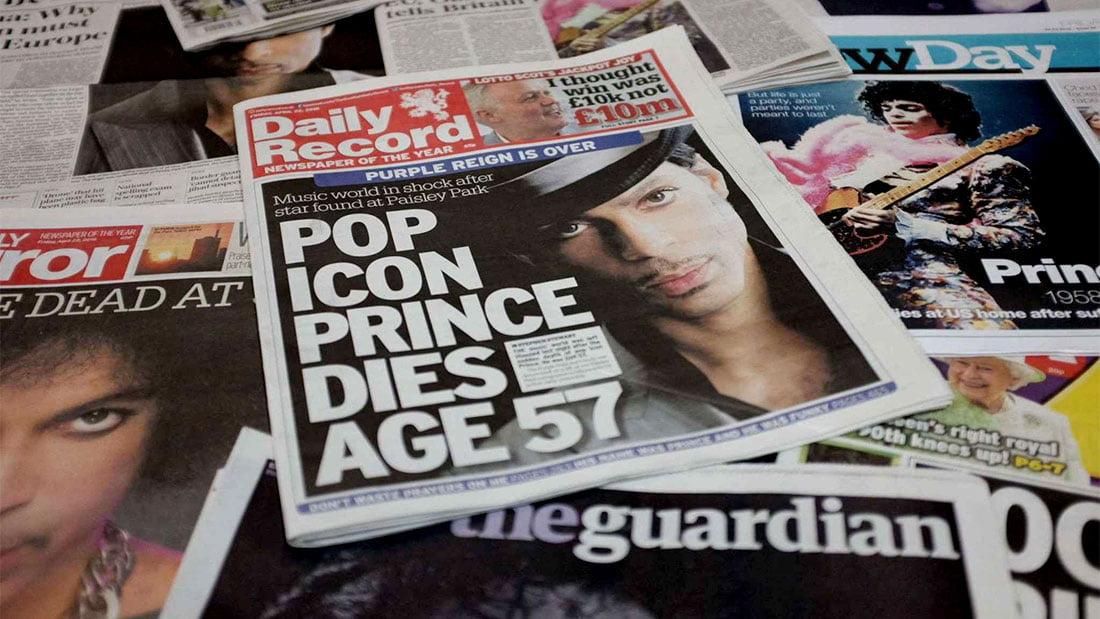 Prince, une icône de la pop nous quitte