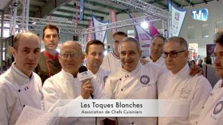 Les toques blanches lors du Premier Challenge de la Cuisine Méditerranéenne à Montpellier