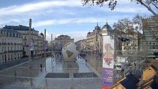La ville de Montpellier prepare Noel